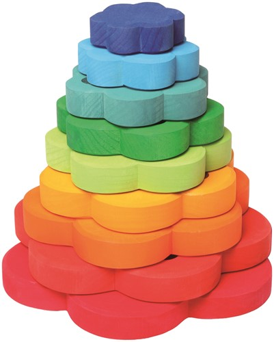 Grimm's Flower Stacking Tower