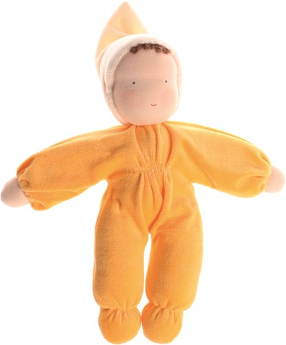 Grimm's Yellow Soft Doll