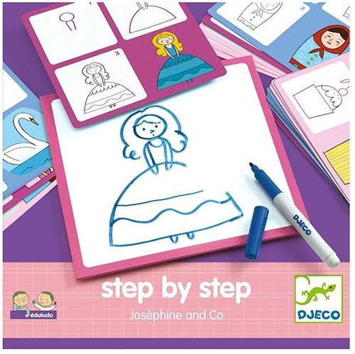 Djeco Eduludo Step by step Joséphine and Co