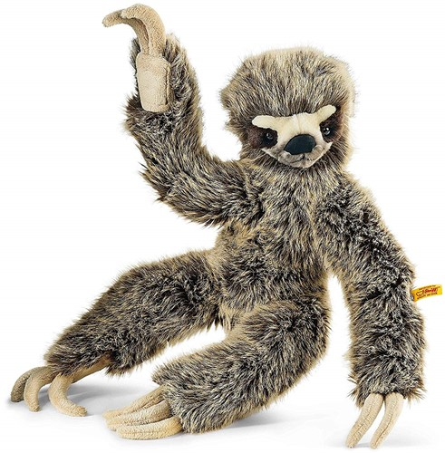 Steiff Eric dangling sloth, brown tipped