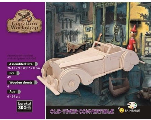 Eureka Gepetto's Workshop - old-timer convertible