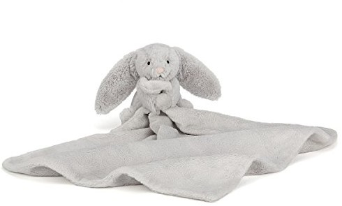 Jellycat Bashful Silver Bunny Soother - 34cm