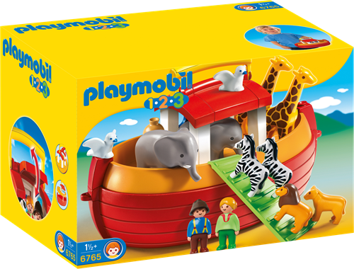 Playmobil My Take Along 1.2.3 Noah ´s Ark