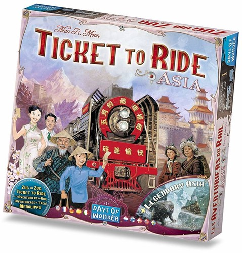 Asmodee Ticket to Ride Map Collection #1 Asia