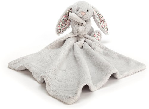 Jellycat Blossom Silver Bunny Soother - 34cm