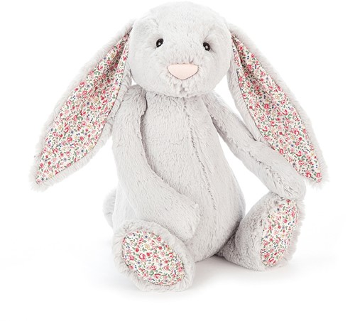 Jellycat Blossom Silver Bunny Large - 36cm