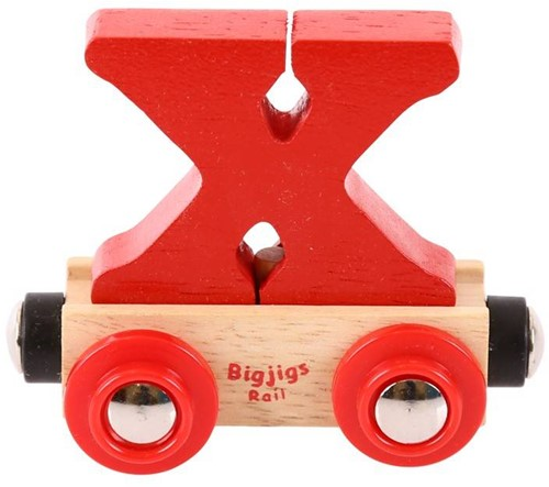 Bigjigs Rail Name Letter X (6)