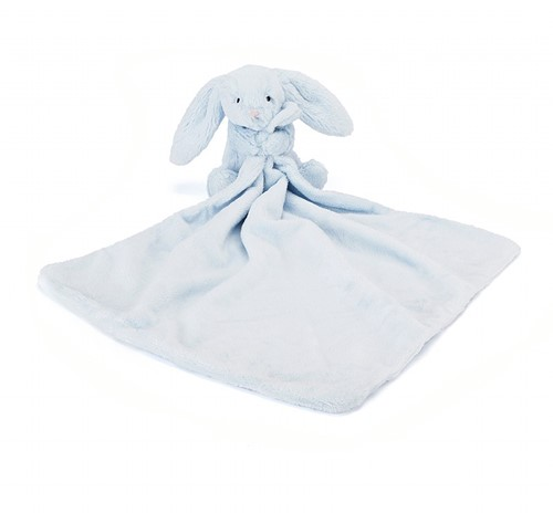 Jellycat Bashful Blue Bunny Soother - 34cm